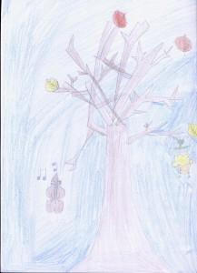 illustration poésie sur l'automne